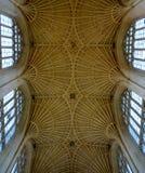 Intérieur de cathédrale de Bath Photographie stock