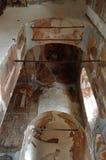 Intérieur de cathédrale de notre Madame du connexion Veliky Novgorod, Russie , Veliky Novgorod, Russie Photographie stock libre de droits