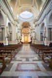Intérieur de cathédrale de Palerme, Sicile Photographie stock libre de droits