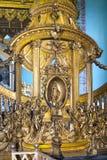 Intérieur de cathédrale de Peter et de Paul dans la forteresse, St Petersburg, Russie Images libres de droits