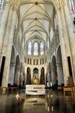Intérieur de cathédrale de rue Michael et de rue Gudula Image libre de droits