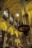 Intérieur de cathédrale de rue Patrick Photographie stock libre de droits