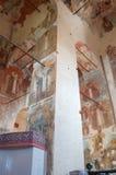 Intérieur de cathédrale de notre Madame du connexion Veliky Novgorod, Russie , Veliky Novgorod, Russie Photos libres de droits