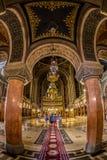 Intérieur de cathédrale orthodoxe de Timisoara Images libres de droits