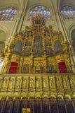Intérieur de cathédrale de Toledo, Espagne photos libres de droits