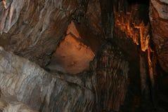 Intérieur de caverne Photo libre de droits