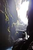 intérieur de caverne Image libre de droits