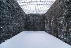Intérieur de cellule de prison Images stock