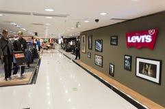 intérieur de centre commercial Image libre de droits