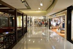Intérieur de centre commercial de Hong Kong Image libre de droits