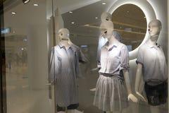 Intérieur de centre commercial de Hong Kong Photographie stock libre de droits