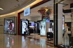 Intérieur de centre commercial Siam Paragon Images stock