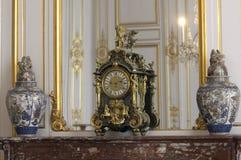 intérieur de chambord de château Photographie stock libre de droits