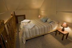 Intérieur de chambre à coucher Images stock