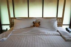 Intérieur de chambre à coucher Photos libres de droits