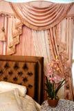 Intérieur de chambre à coucher ..... Photo libre de droits