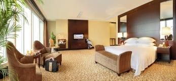 Intérieur de chambre d'hôtel Photo stock
