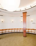intérieur de Chambre de Bath de type des années 20 Image libre de droits