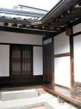 Intérieur de Chambre traditionnelle coréenne Photographie stock libre de droits