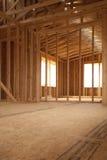 Intérieur de chantier de construction Photographie stock