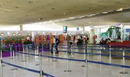 Intérieur de Charles de Gaulle Airport Photographie stock