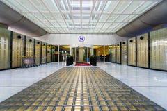 Intérieur de Charles de Gaulle Airport Images stock
