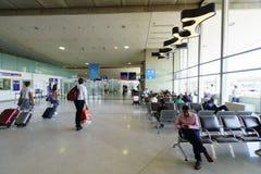 Intérieur de Charles de Gaulle Airport Image stock