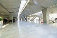 Intérieur de Charles de Gaulle Airport Photographie stock libre de droits