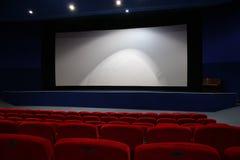 Intérieur de cinéma photographie stock libre de droits
