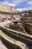 Intérieur de Colosseum images libres de droits