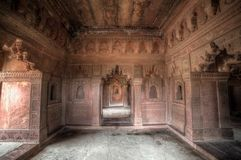 Intérieur de complexe de Fatehpur Sikri image libre de droits