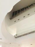Intérieur de conception moderne d'architecture images stock