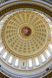 Intérieur de construction de capitol à Madison, le Wisconsin Photo libre de droits