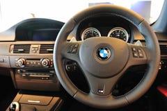 Intérieur de coupé de BMW M3 Images stock