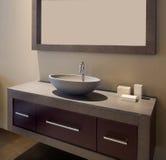 intérieur de créateur de salle de bains Photos stock
