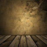Intérieur de cru de Brown Images libres de droits