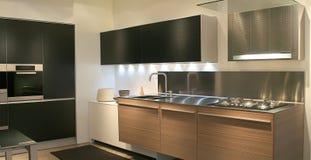Intérieur de cuisine Photographie stock