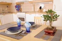 Intérieur de cuisine Images libres de droits