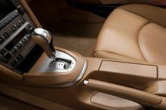 Intérieur de détail d'automobile moderne Photos stock