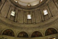Intérieur de dôme de salle commémorative de Victoria photographie stock