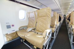 Intérieur de Darwin Airline Saab 2000 Photo stock