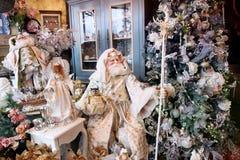 Intérieur de fête avec Noël Photographie stock