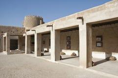 Intérieur de fort de Zubara Photos libres de droits