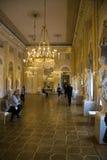 Intérieur de galerie d'Albertina photos stock