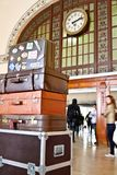 Intérieur de gare de Haydarpasa Images libres de droits