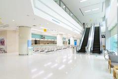 Intérieur de hall de luxe d'hôpital Images libres de droits