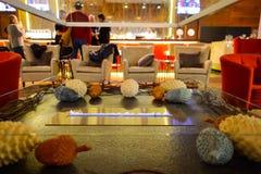 Intérieur de Hilton Hotel Photo stock