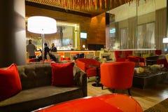 Intérieur de Hilton Hotel Photographie stock