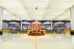 Intérieur de Hong Kong International Airport Images libres de droits