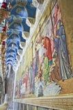 Intérieur de l'église de la sépulture sainte à Jérusalem, Isra Images stock
